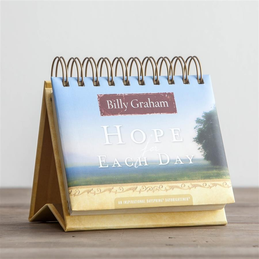 Hope For Each Day Daybrightener Ayat Online regarding Billy Graham Wisdom For Each Day 365 Day Perpetual Calendar