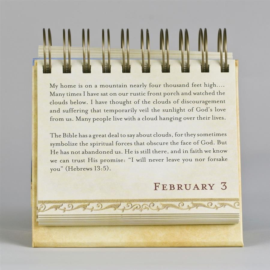 Hope For Each Day Daybrightener Ayat Online within Billy Graham Wisdom For Each Day 365 Day Perpetual Calendar
