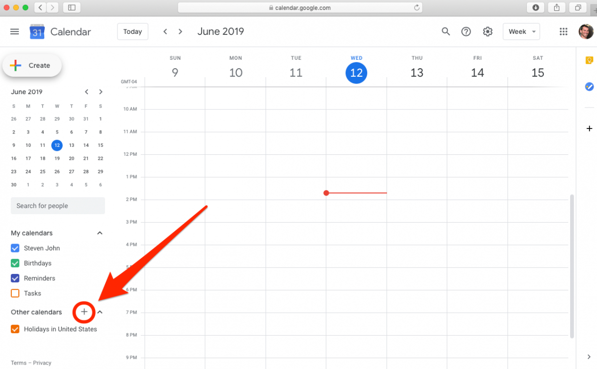 How To Add And Customize A Google Calendar To Separate Your regarding How To Add Google Calendar To Taskbar
