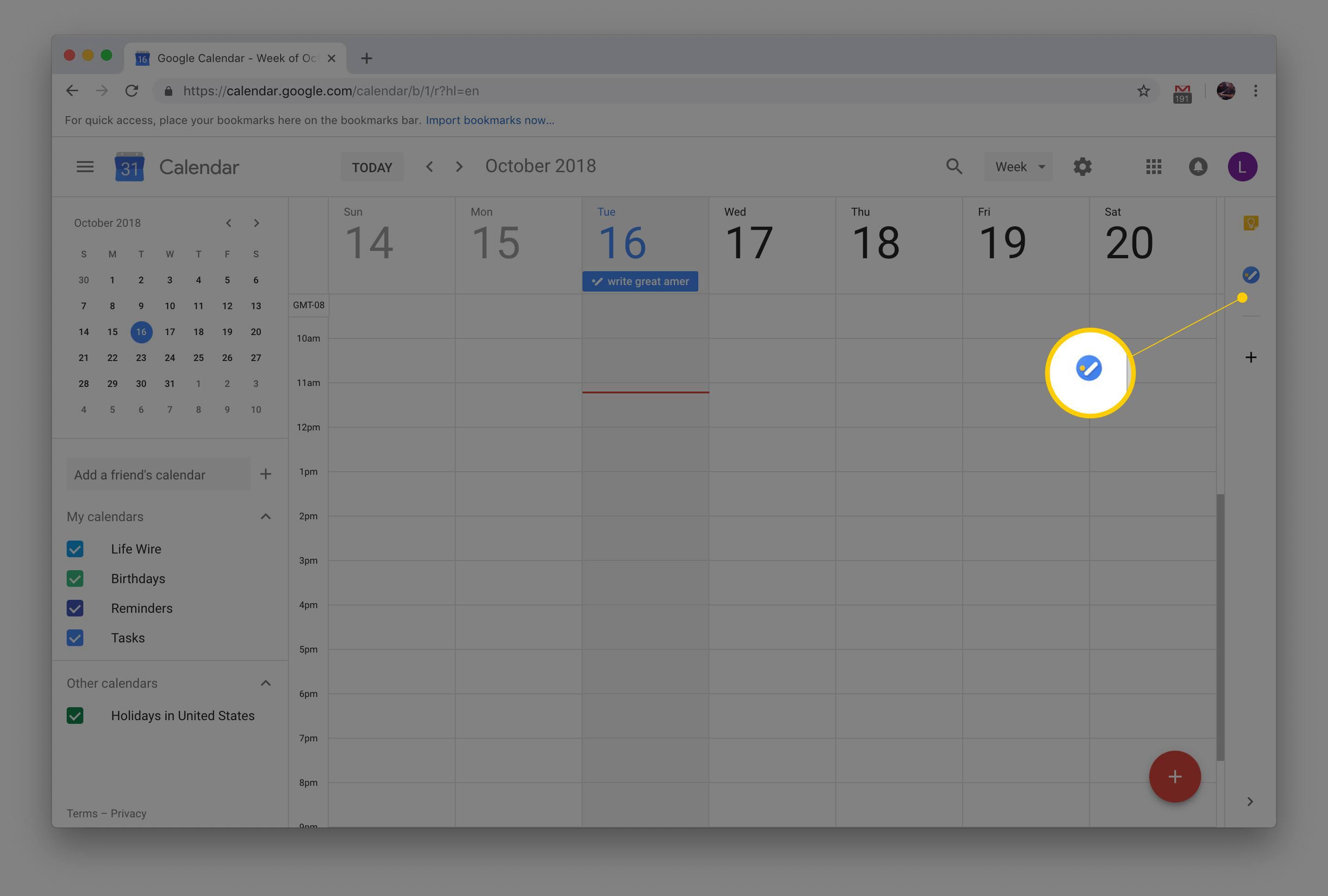 How To Add Tasks To Google Calendar regarding Google Calendar Add Image