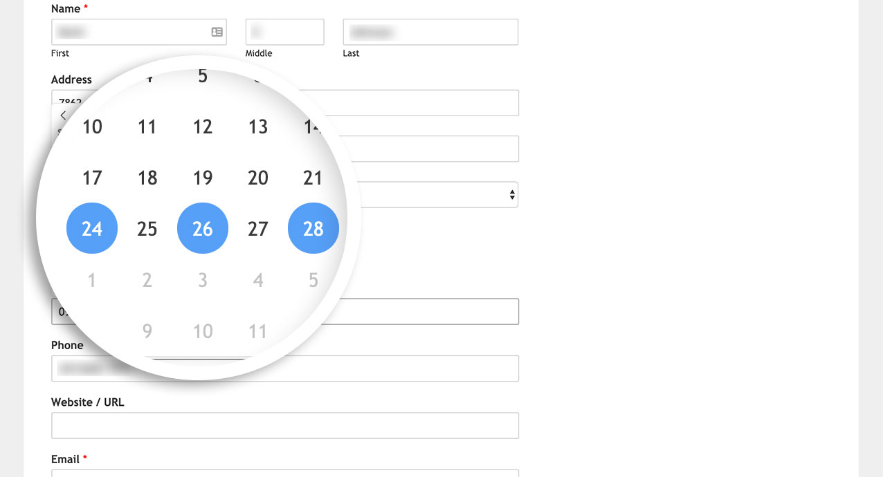 How To Allow Date Range Or Multiple Dates In Date Picker for Php Calendar Date Picker