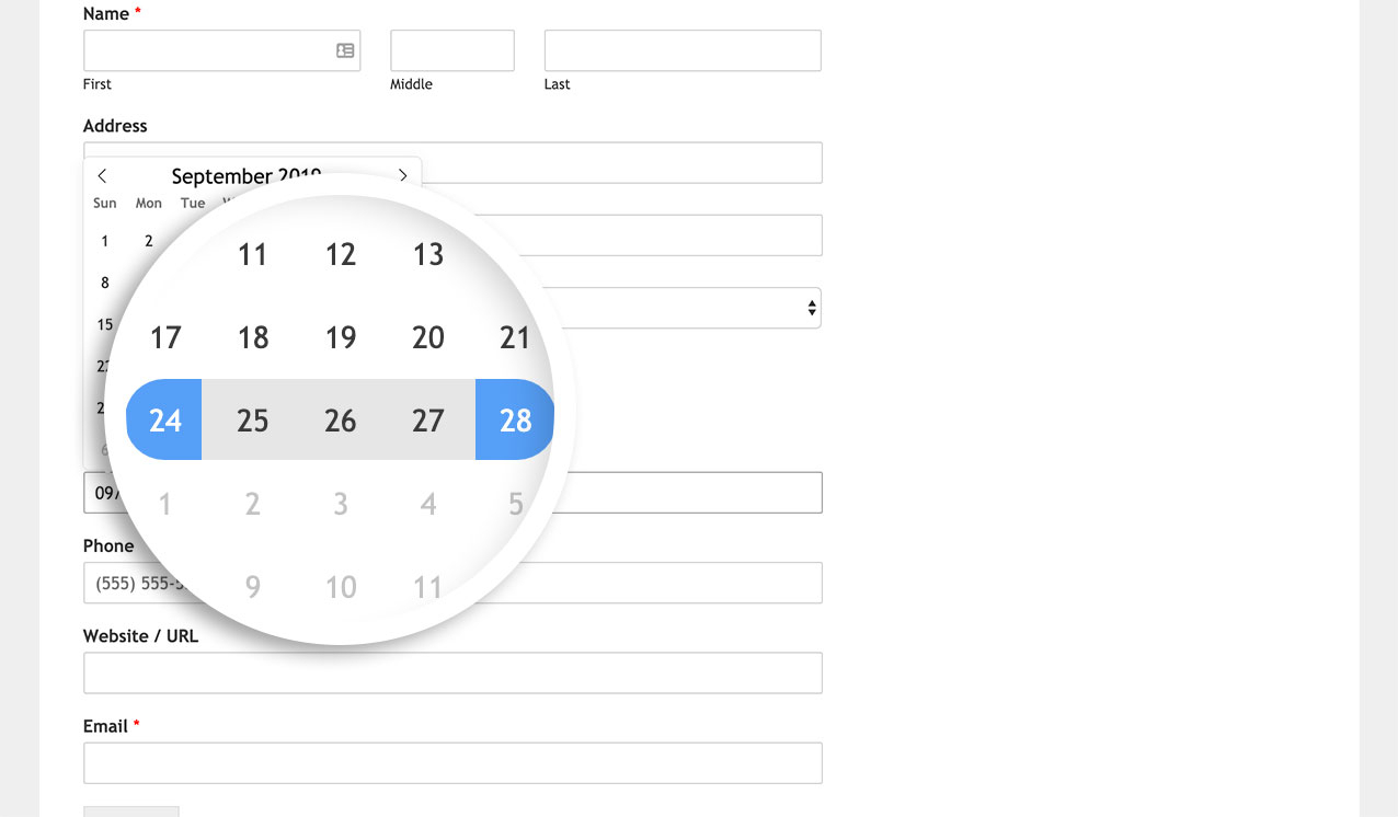 How To Allow Date Range Or Multiple Dates In Date Picker inside Php Calendar Date Picker