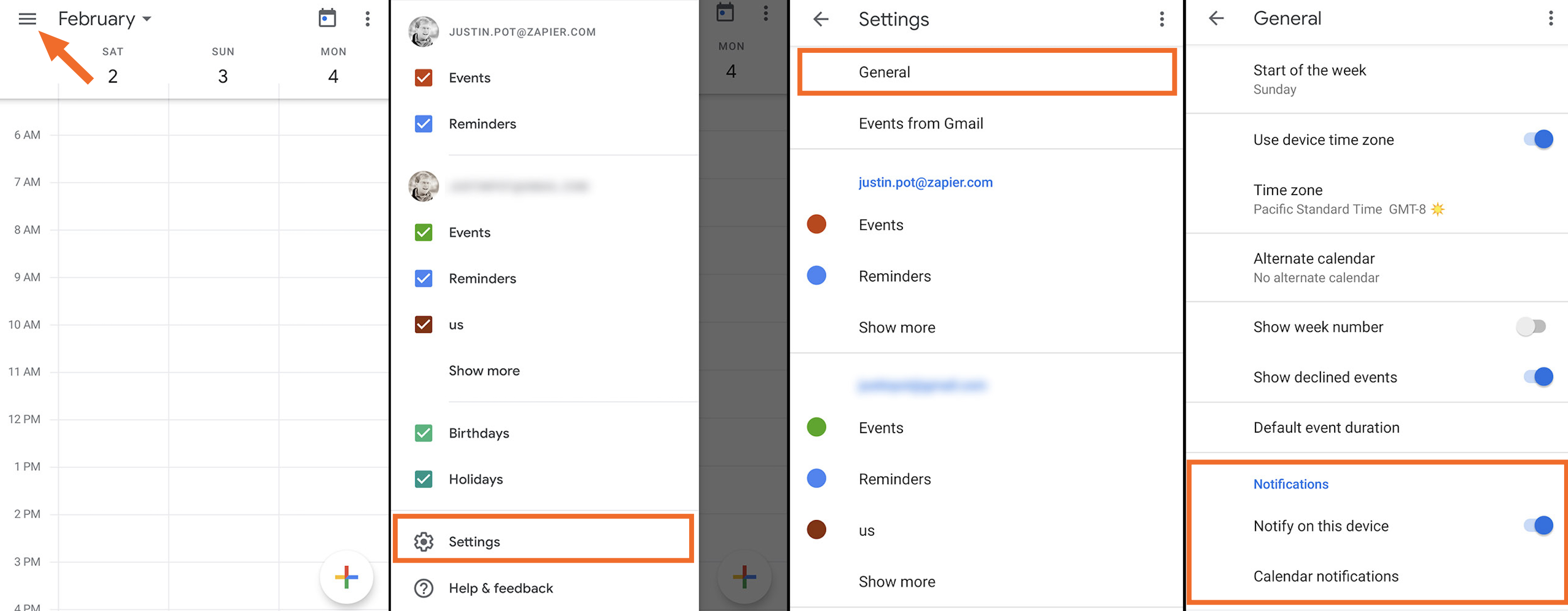 How To Change Your Notifications For Google Calendar in Google Calendar Desktop Notifications Vs Alerts