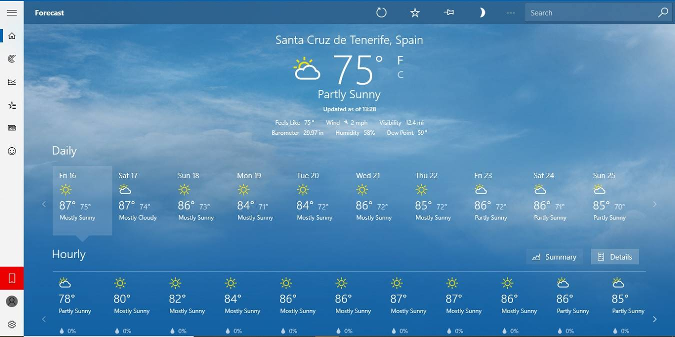 How To Check The Weather On Your Windows 10 Desktop  Make inside Windows 10 Desktop Calendar