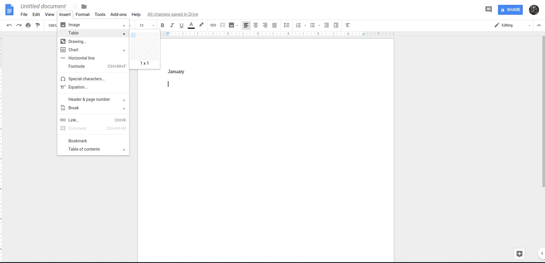 How To Create A Calendar In Google Docs  Calendar inside Calendar Template Google Docs Spreadsheet