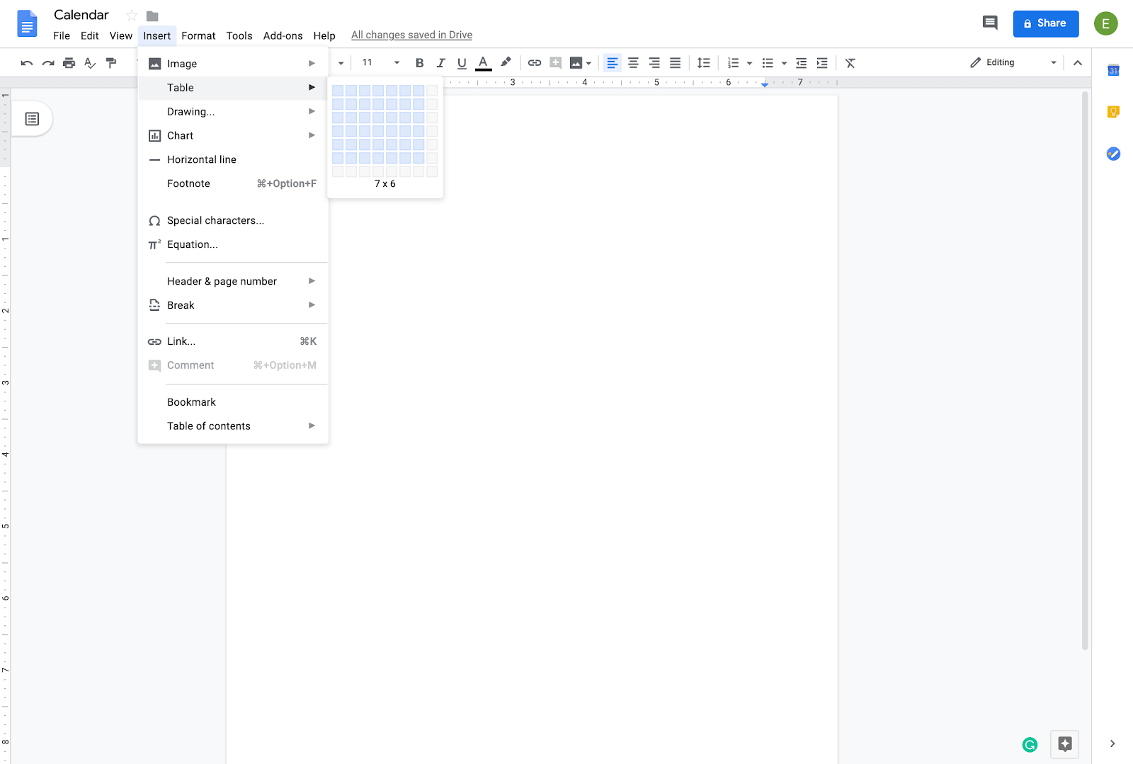 How To Create A Calendar In Google Docs | Copper intended for Calendar Maker Google Docs