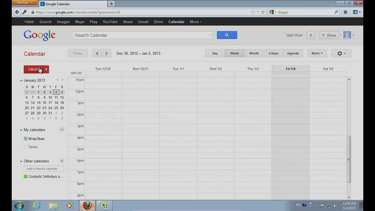 How To Export Excel To Google Calendar pertaining to Google Calendar Excel Import Template