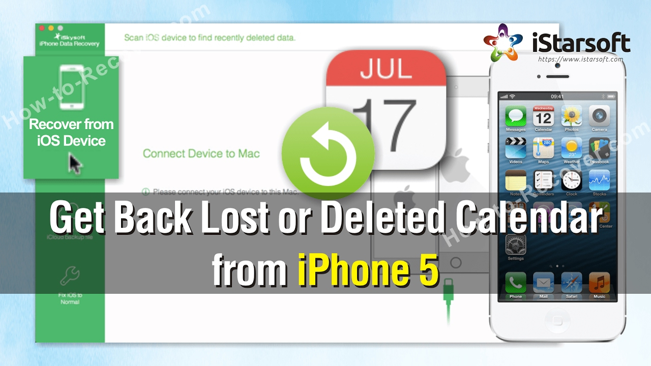 How To Get Back Lost Or Deleted Calendar From Iphone 5 within Lost Calendar On Iphone