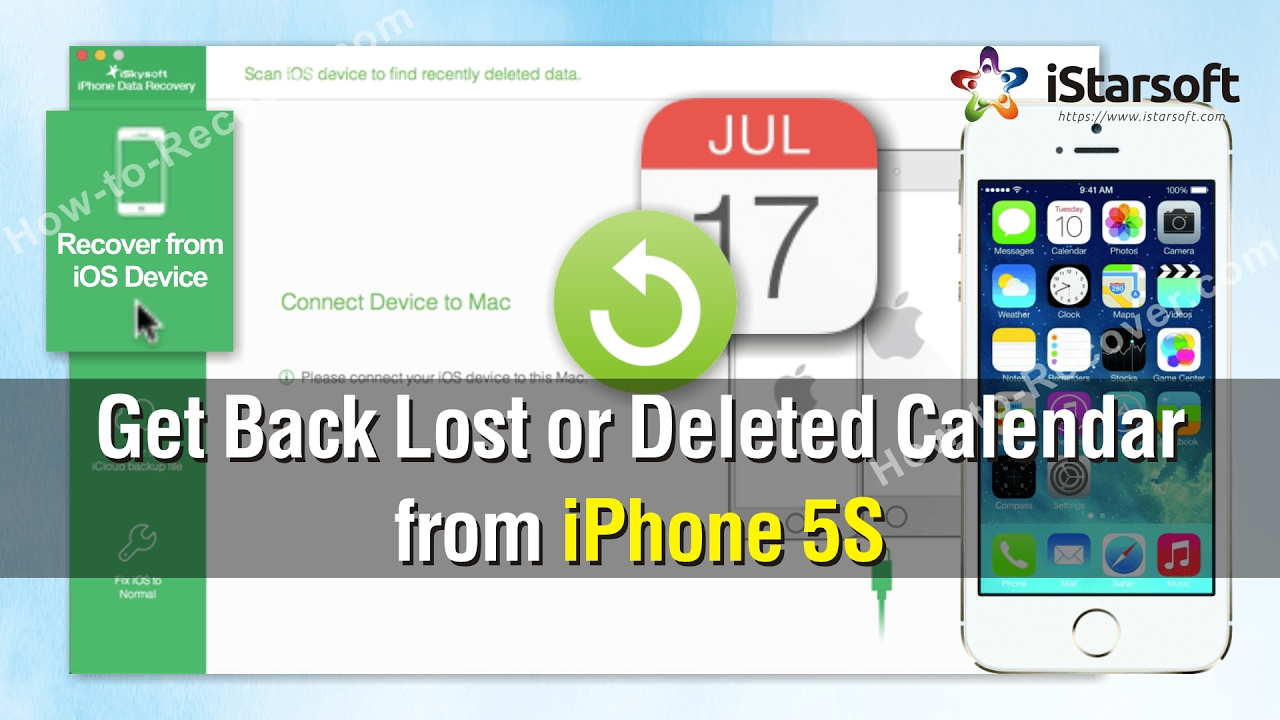How To Get Back Lost Or Deleted Calendar From Iphone 5S for Lost Calendar Icon On Iphone