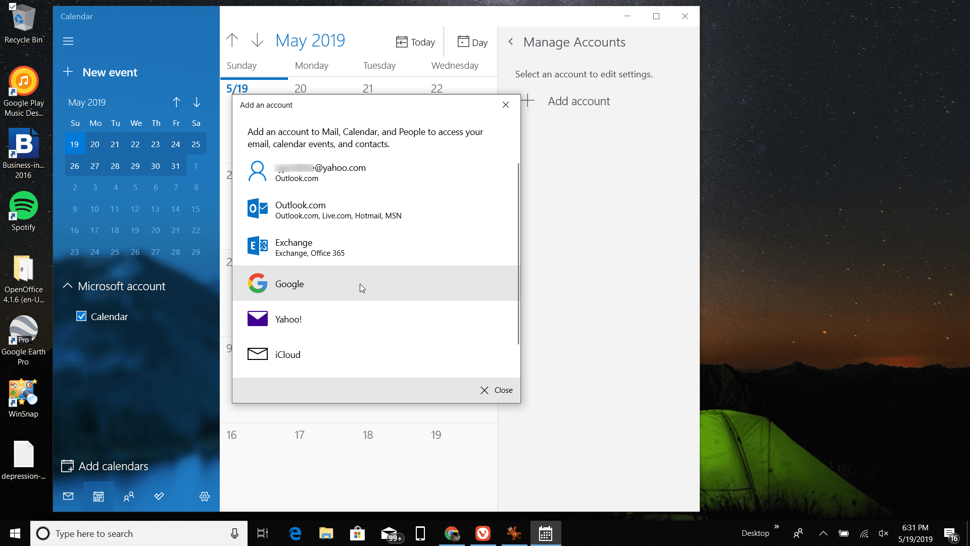 How To Get Google Calendar On Your Windows Desktop for Windows 10 Desktop Calendar