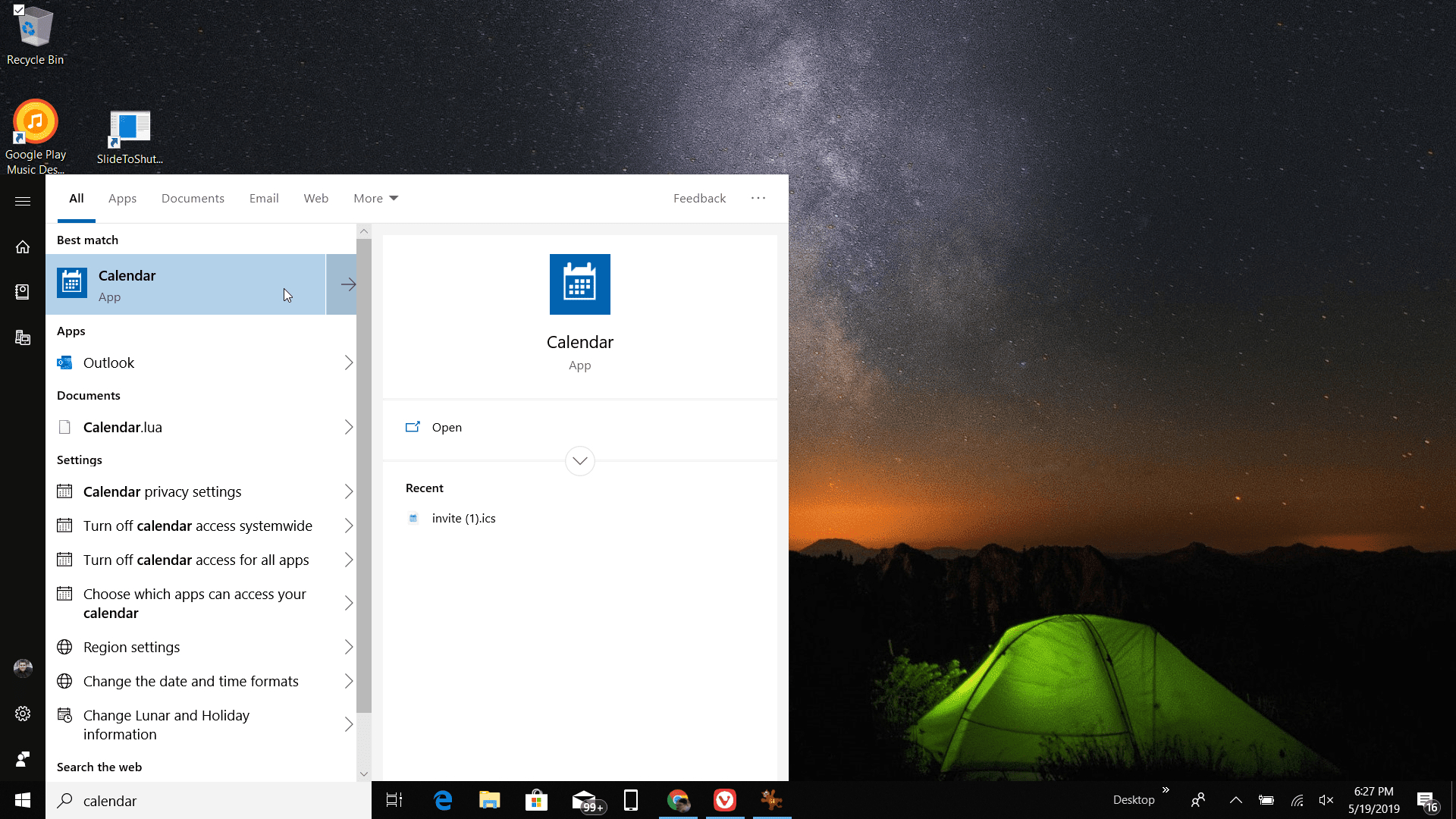 How To Get Google Calendar On Your Windows Desktop with Windows 10 Desktop Calendar