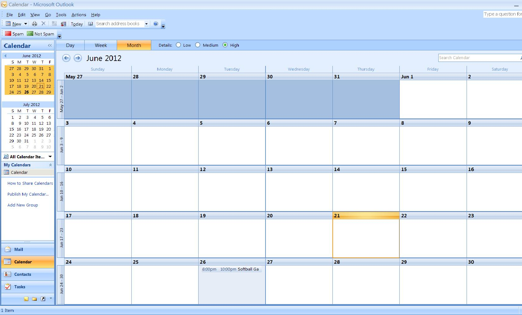 How To Import A Calendar From Excel To Outlook | Turbofuture throughout Creating Recurring Events In Excel Calendar