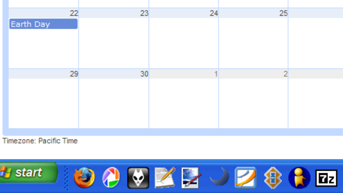 How To Make Your Google Calendar Your Pc's Desktop Wallpaper in Set Calendar As Desktop Background Windows 10