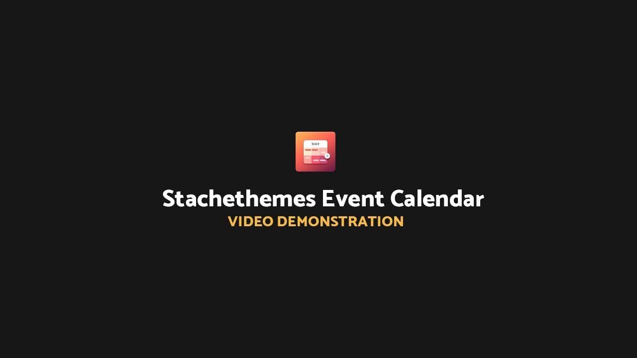 How To Repeat Events With Stachethemes Event Calendar Plugin For WordPress regarding Stachethemes Event Calendar