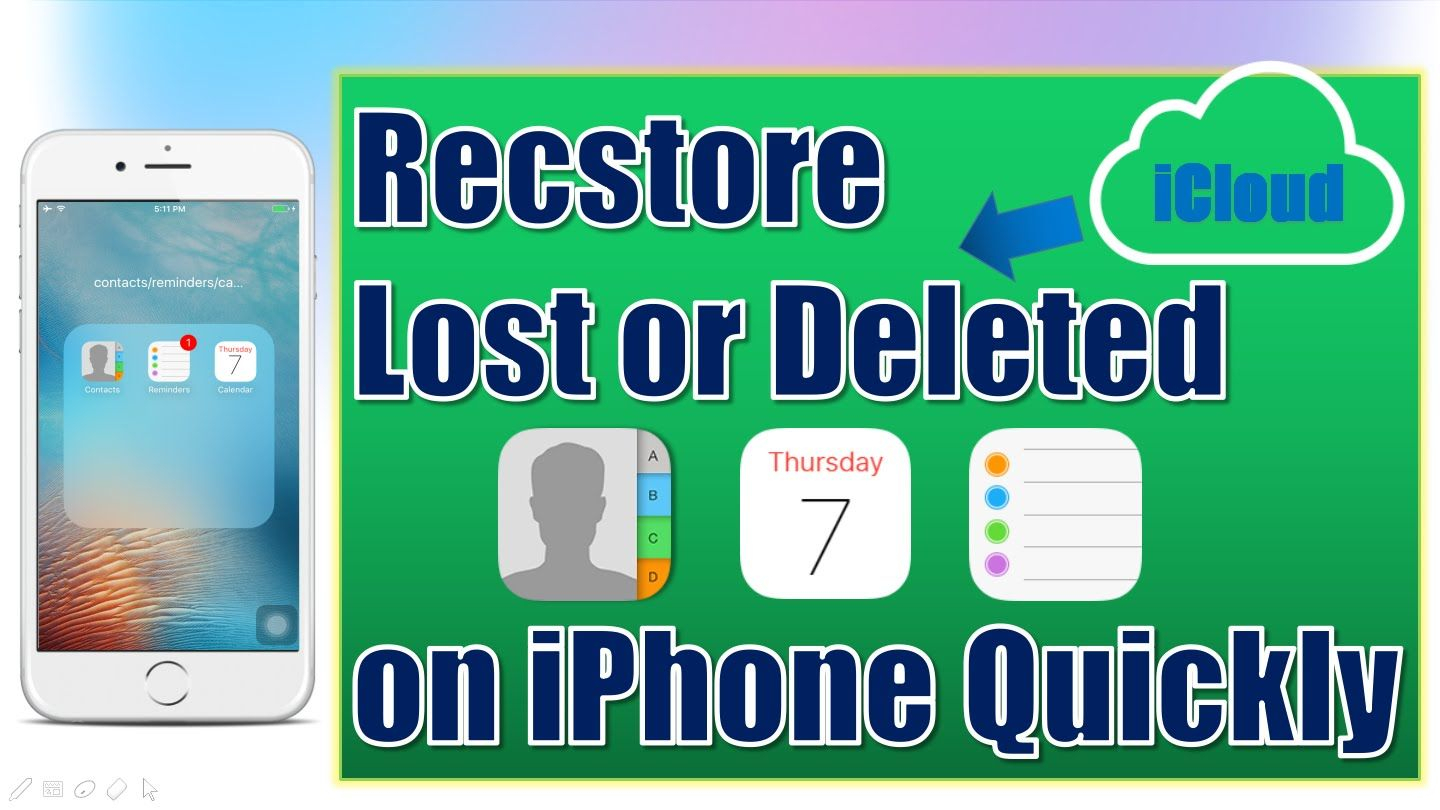 How To Restore Lost Contactsreminderscalendar On Iphone for Lost Calendar On Iphone