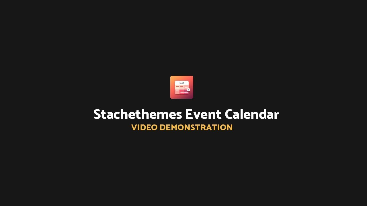 How To Showhide The Top Navigation With Stachethemes Event Calendar Plugin  For WordPress regarding Stachethemes Event Calendar