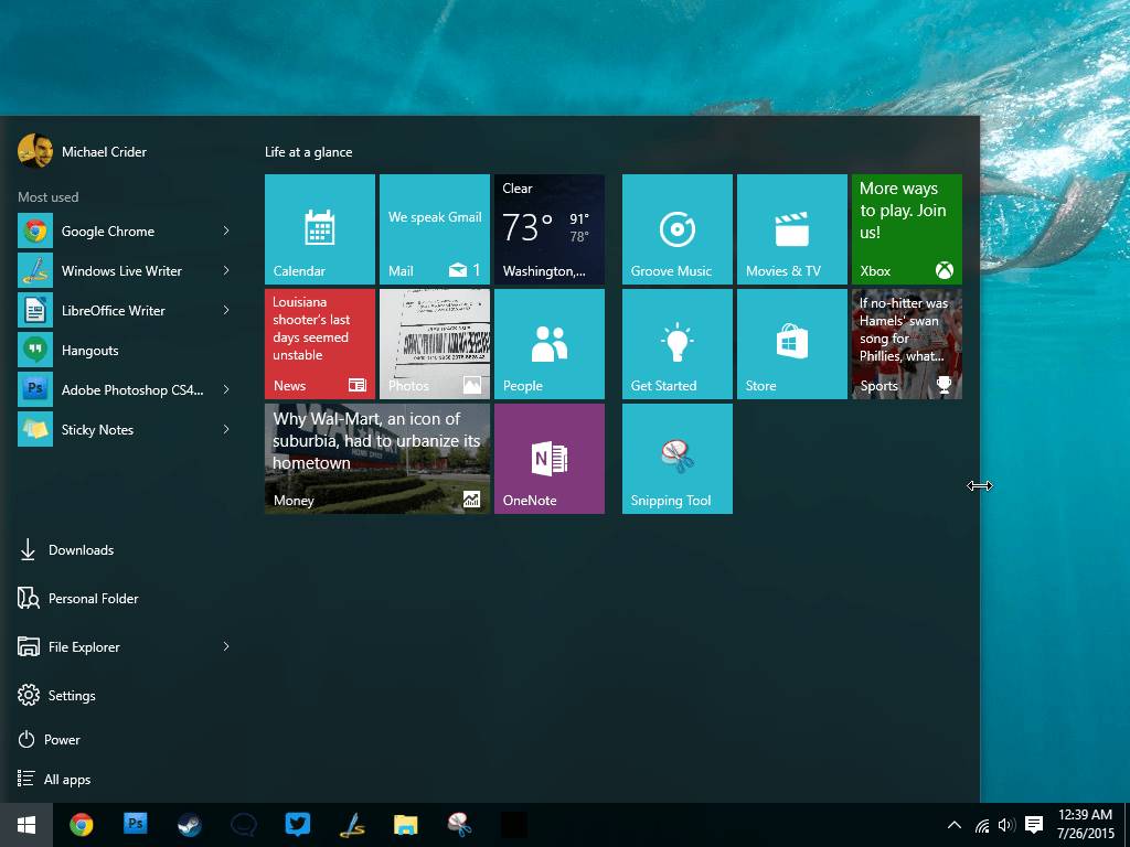 How To Use And Customize The Windows 10 Start Menu | Digital with regard to Windows 10 Widgets Notes
