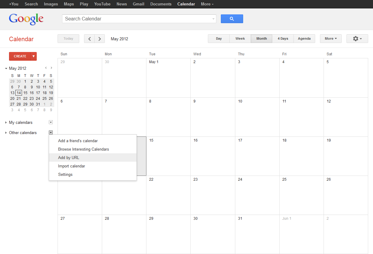 How To View A Kerio Connect Calendar In Google Calendar within Kerio Shared Calendar Outlook