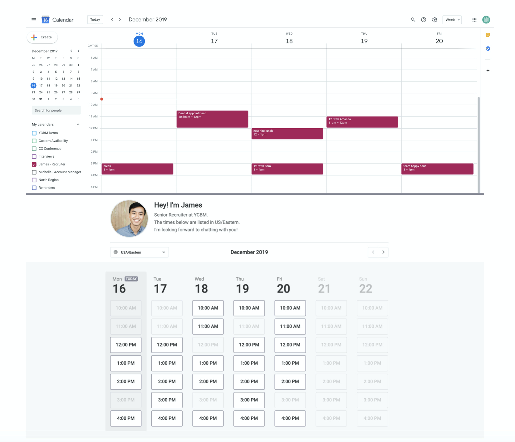 How Youcanbook Works With Your Calendar  Youcanbook with regard to Outlook Shared Calendar No Connection