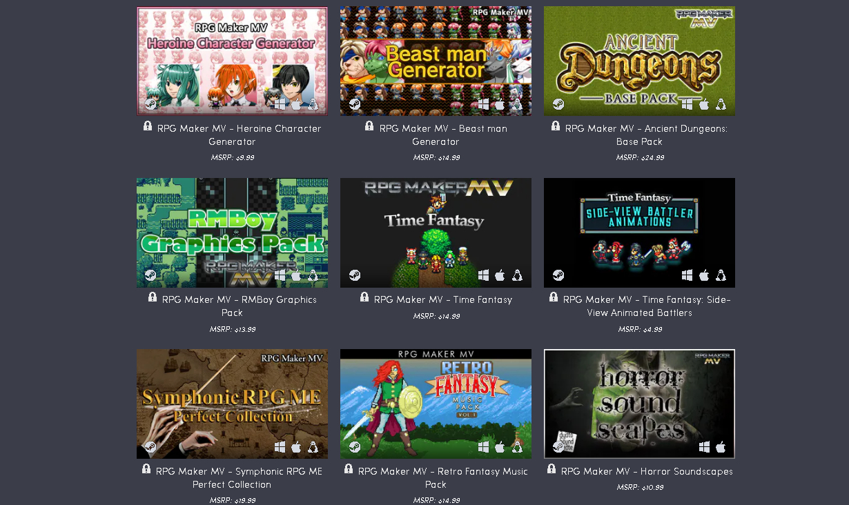 Humble Software Bundle: Rpg Maker Returns inside Rpg Maker Mv Clock