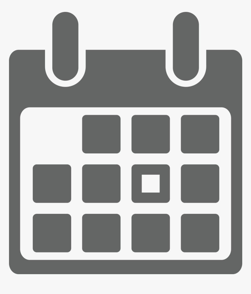 Icons Transparent Calendar  Calendar Icon Grey Png, Png with Calendar Icon Grey