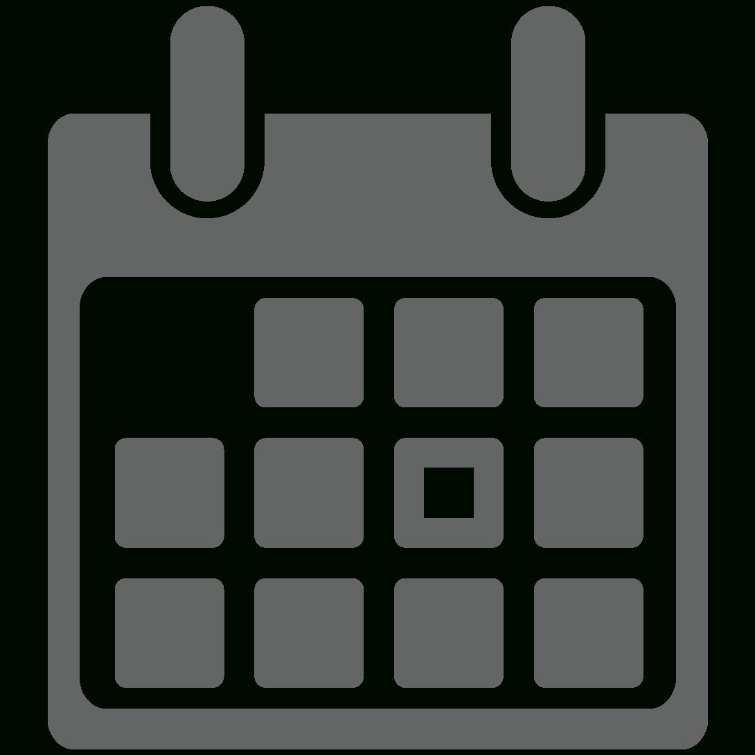 Icons Transparent Calendar, Picture #1105862 Icons regarding Calendar Icon Noun Project