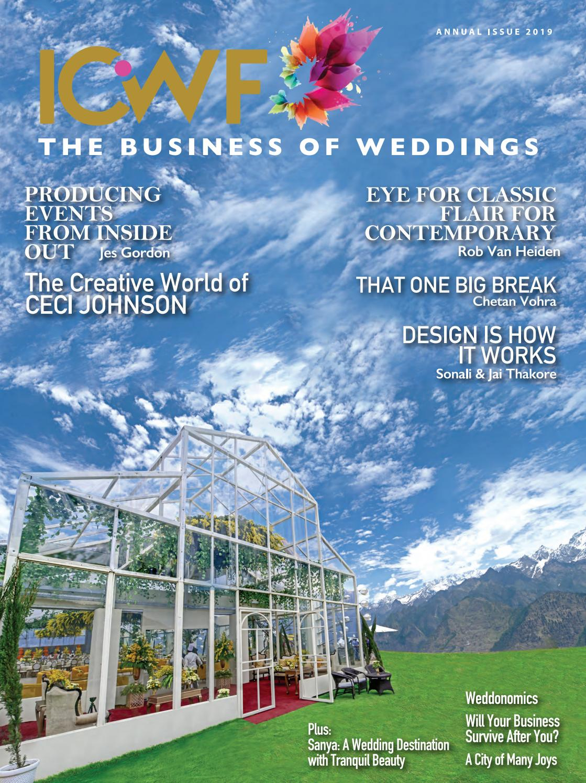 Icwf  The Business Of Weddings , 2019 Edition By with regard to Isha Usa Lunar Calendar