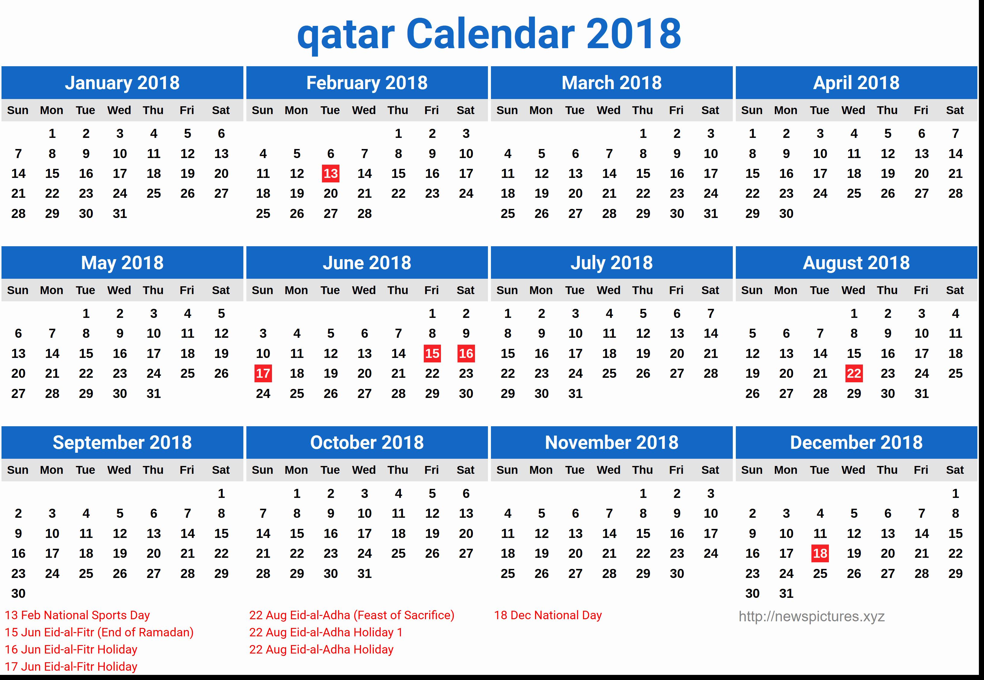 Image Result For Calendar 2019 Qatar | August Calendar regarding 2020 Calendar Qatar Printable