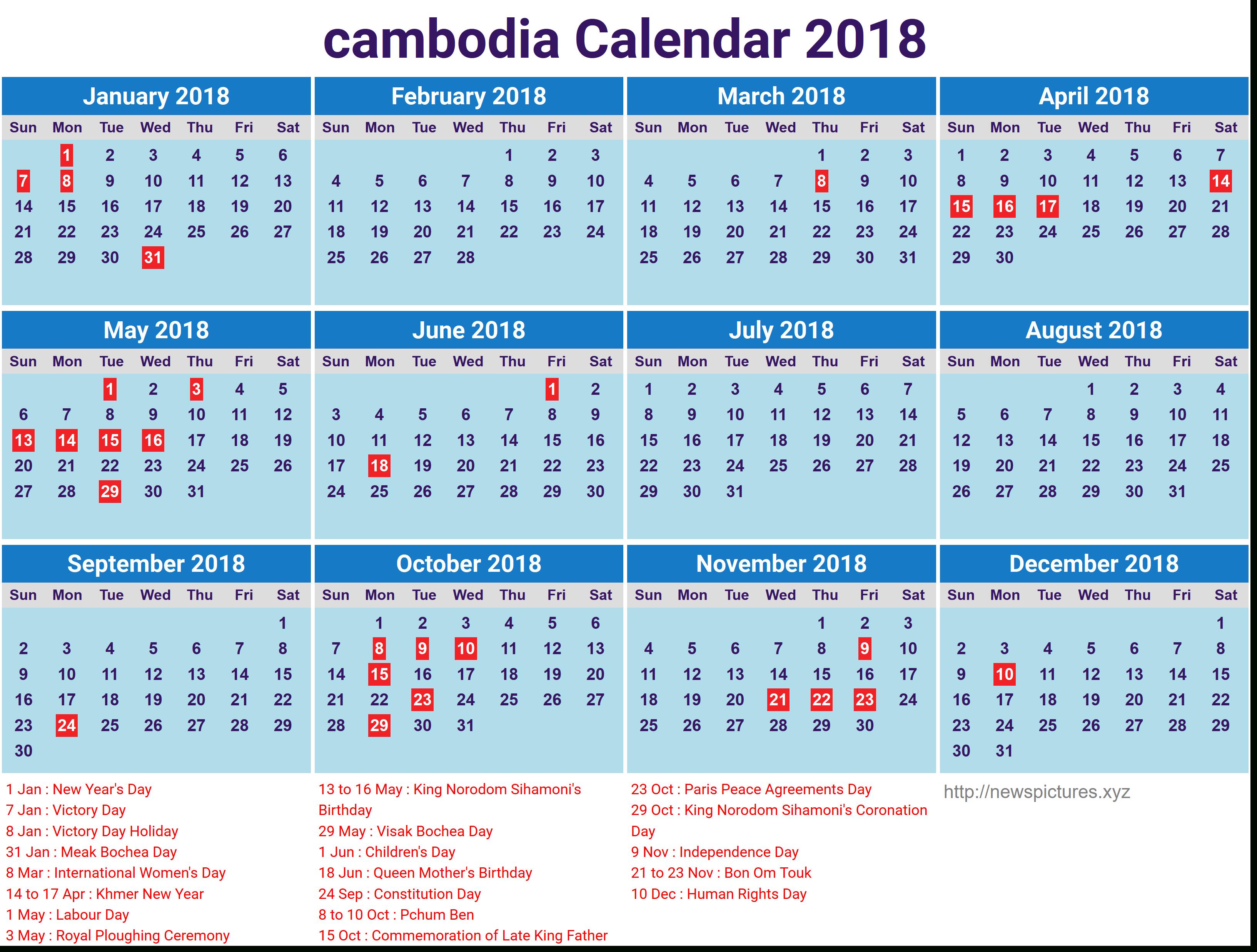Image Result For Khmer Calendar 2018 | August Calendar throughout Khmer Calendar 2016