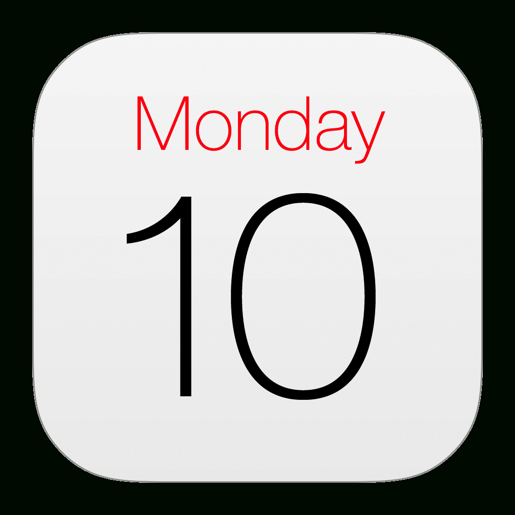 Images Of Iphone Calendar App Icon  Www.industrious with Apple Calendar App Icon
