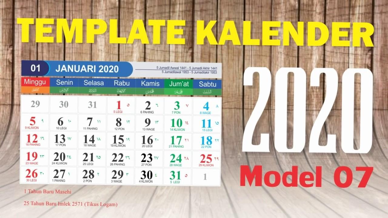 Ini Dia.. Jadwal Libur Nasional Dan Cuti Bersama Di 2020 inside Kalendar Tahun 2020