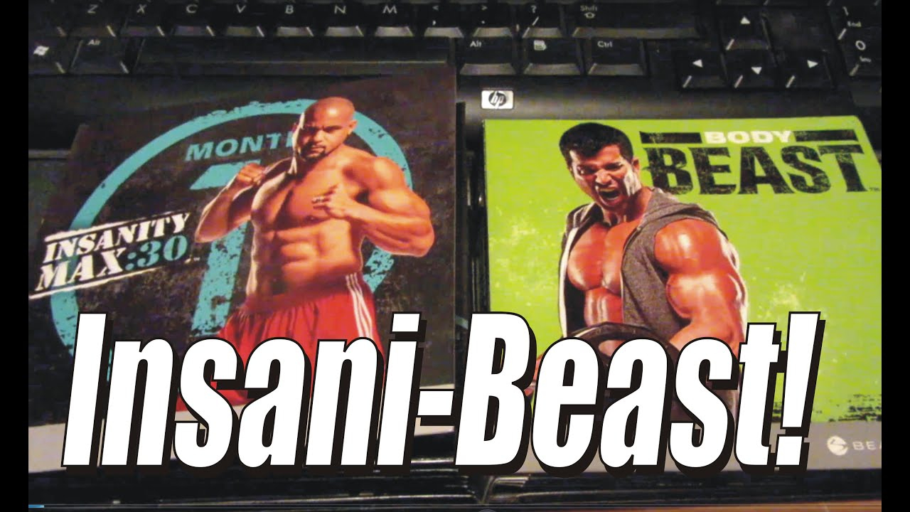 Insanibeast! + The Man In The Mirror (Insanity Max: 30 for Insanity Max 30 Body Beast Hybrid