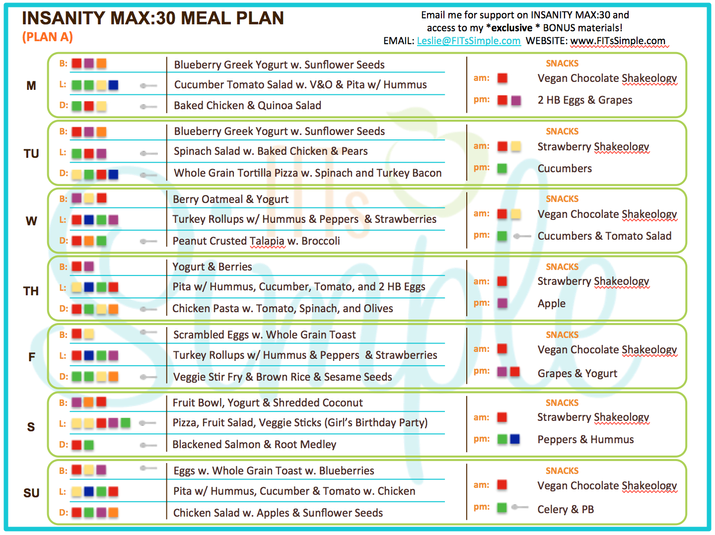 Insanity Max 30 Review  All The Details You Need!!! | 21 with regard to Insanity Max 30 Calendar Pdf