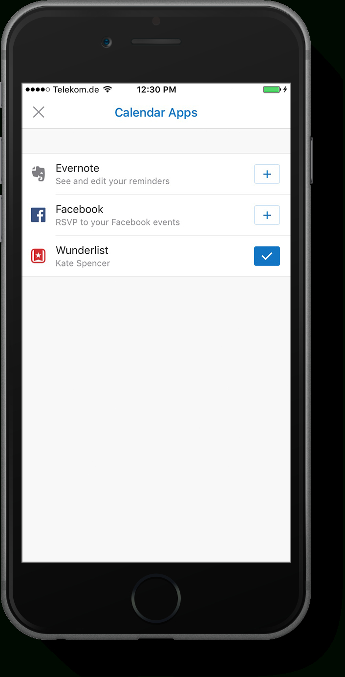 Introducing The Wunderlist Calendar App For Outlook On within Wunderlist Calendar App