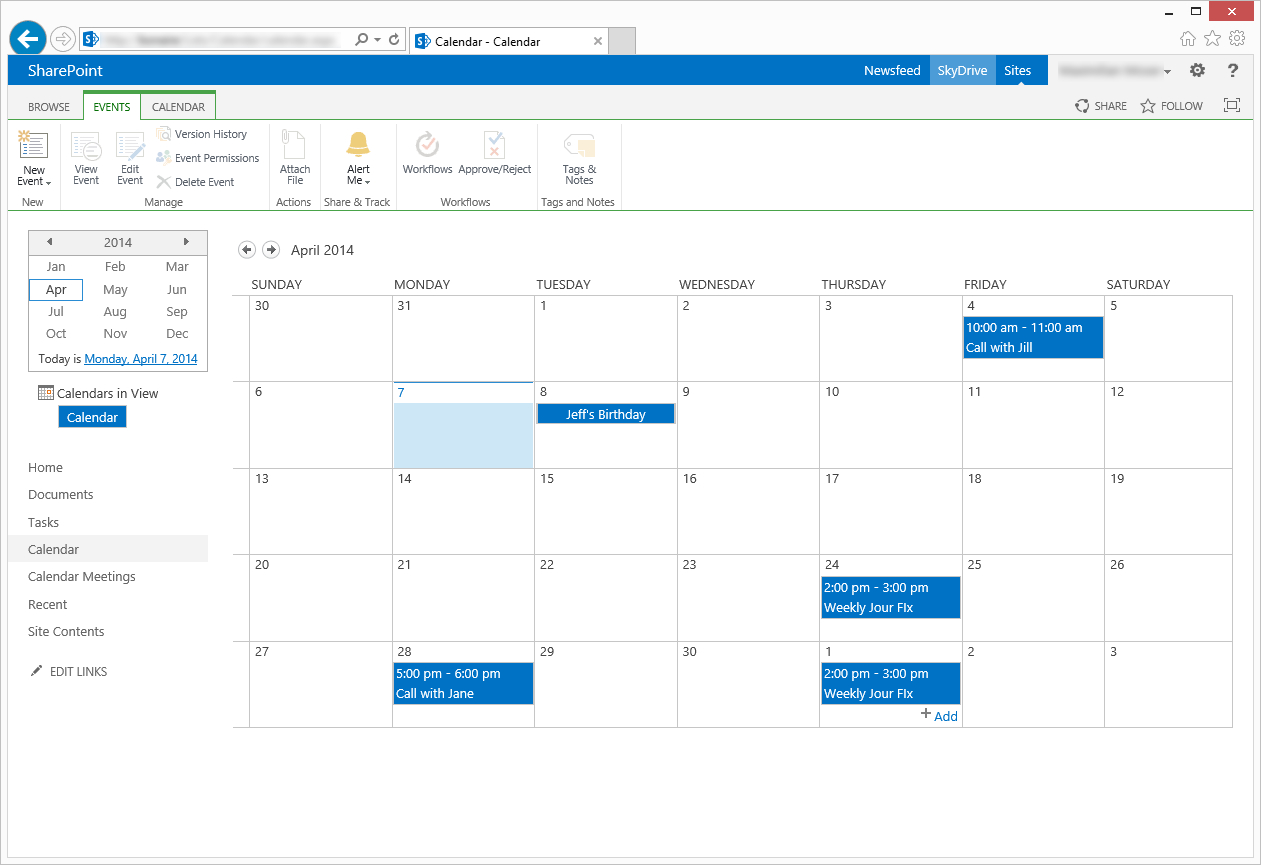 Invite Attendees From Sharepoint Calendar in Sharepoint Calendar Invite Attendees