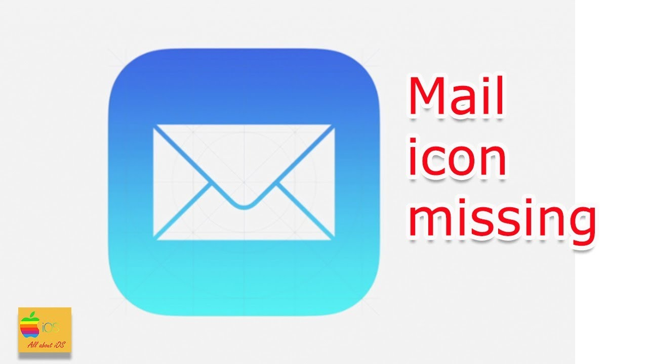 Iphone Mail Icon Missing inside Mail Icon Missing Iphone