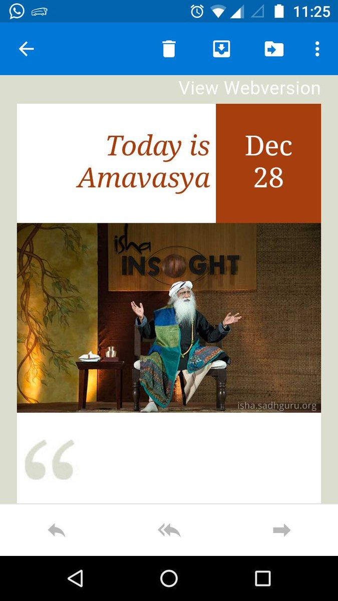 "Isha Foundation On Twitter: ""today Is Amavasya intended for Isha Lunar Calendar 2020"