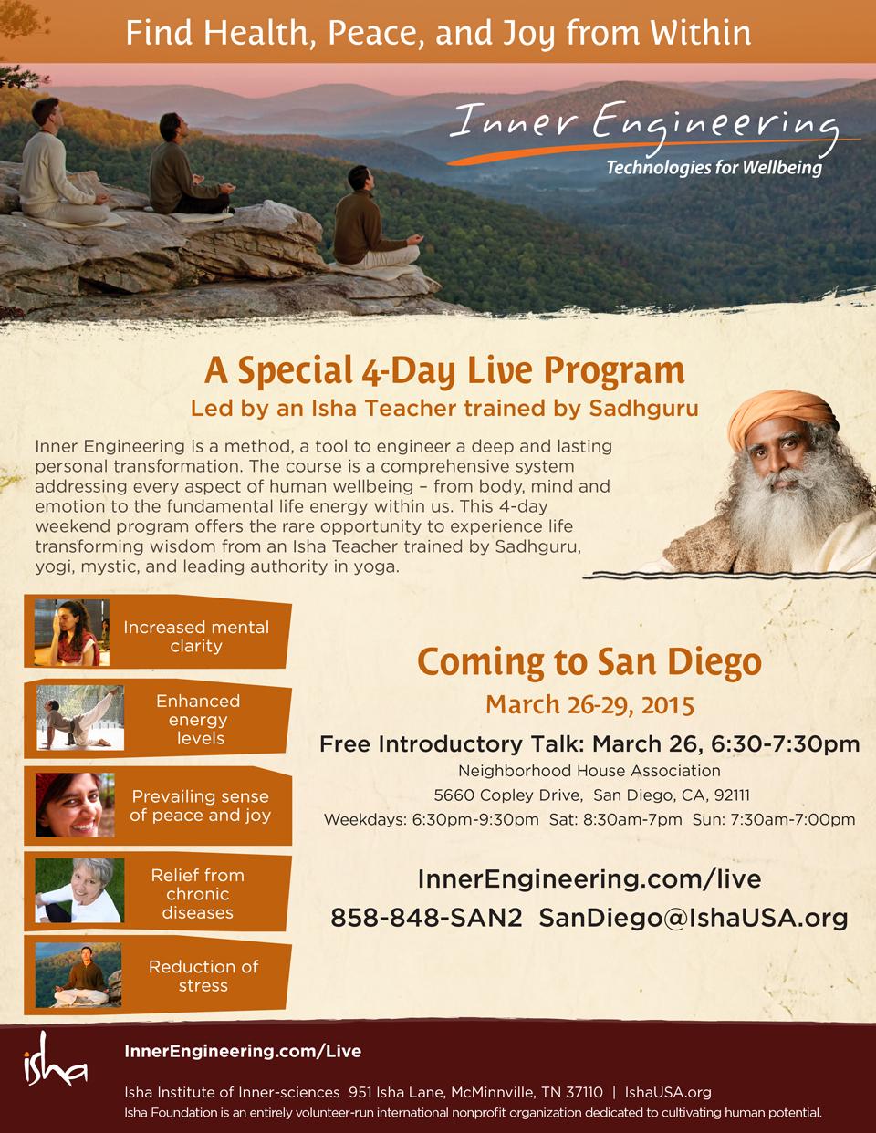 Isha Yoga: Inner Engineering & Shambhavi Kriya inside Isha Usa Calendar