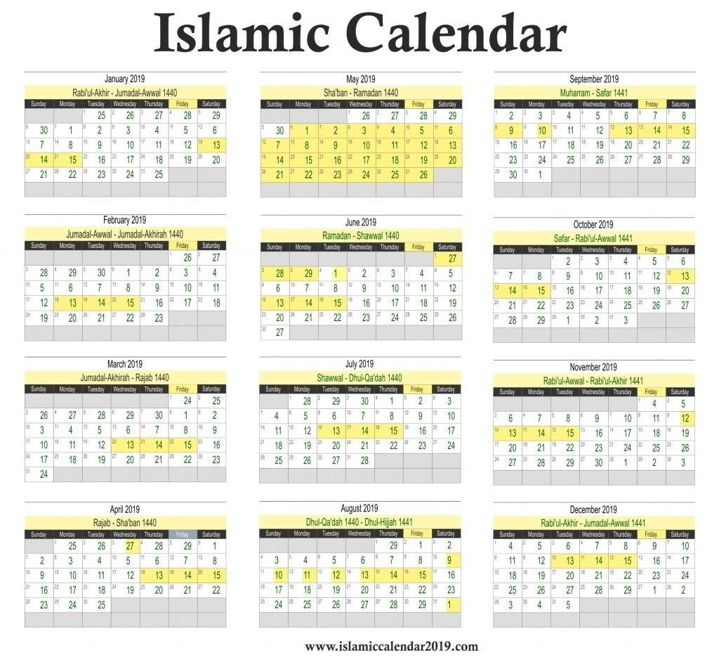 Islamic Calendar March 2020 | Calendar Template Information within Islamic Calander 2020