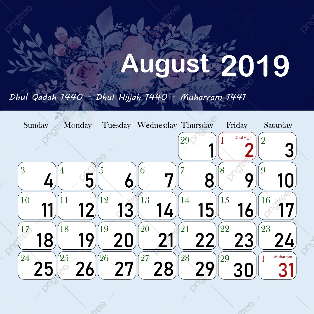 Islamic Hijri Calendar August 1440 2019, 1440, 1441, 1440 with regard to 1440 Hijri Calendar