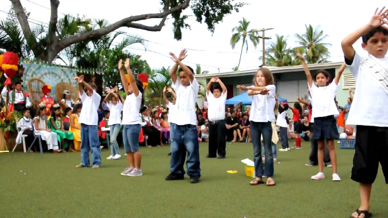 Jaela & The 2Nd Graders Of King Kamehameha Iii School  Youtube regarding King Kamehameha 3 School