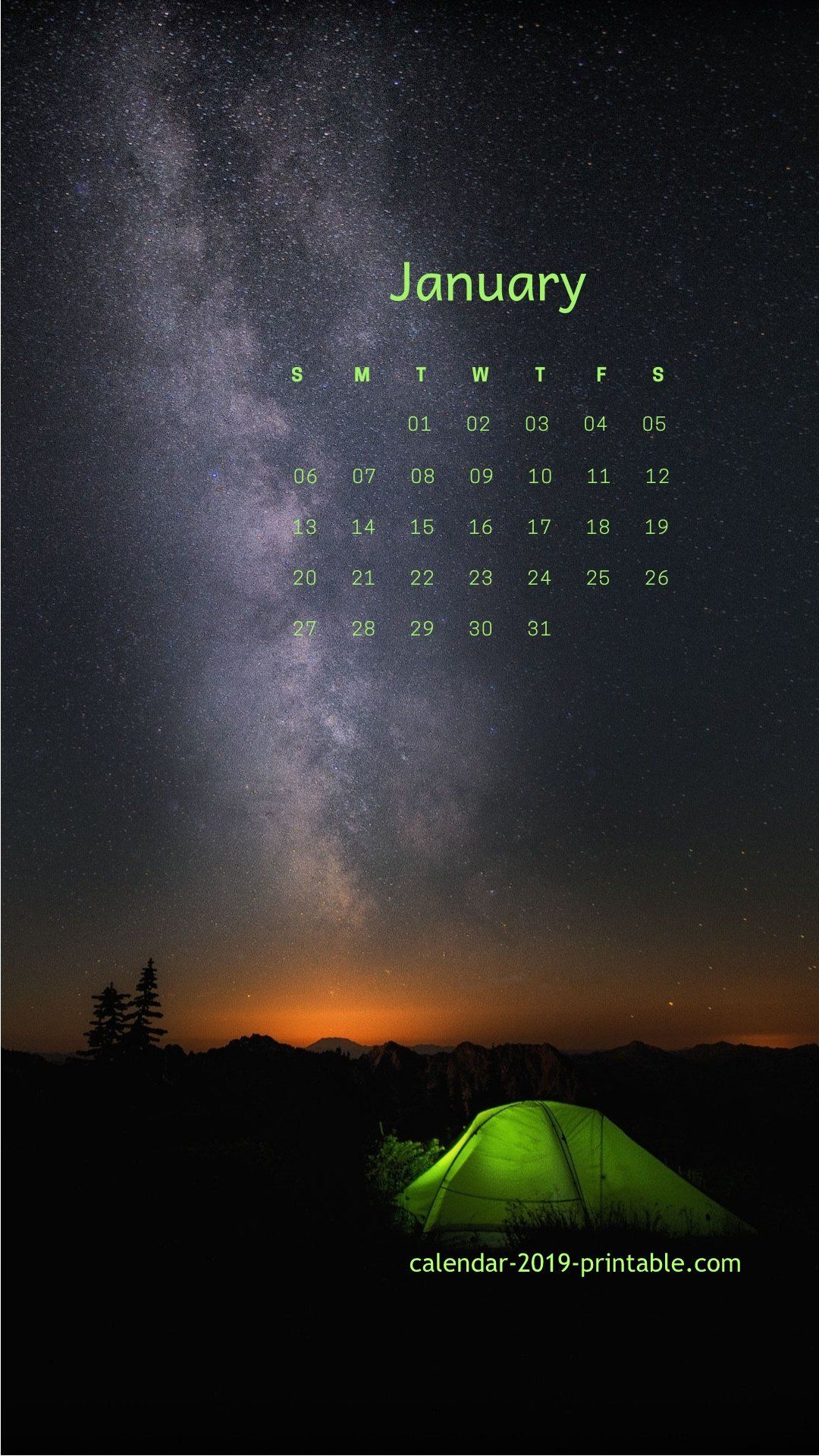 January 2019 Iphone Lockscreen Calendar | Calendar Wallpaper throughout Iphone Lock Screen Calendar