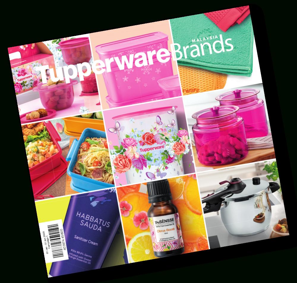 January 2020 Catalog  Tupper Tv Malaysia with Tupperware Januar 2020