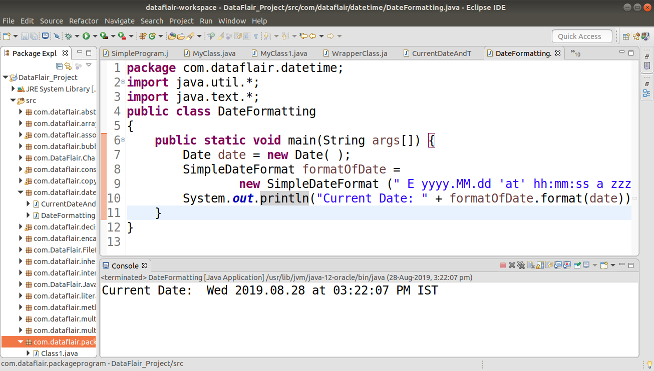 Java Date And Time  Gregoriancalendar Class With Example within Julian Date In Java