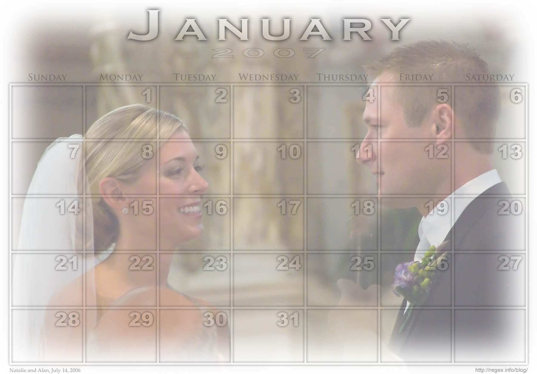 Jeffrey Friedl's Blog » Jeffrey's Photoshop Calendar pertaining to Script Calendario Photoshop