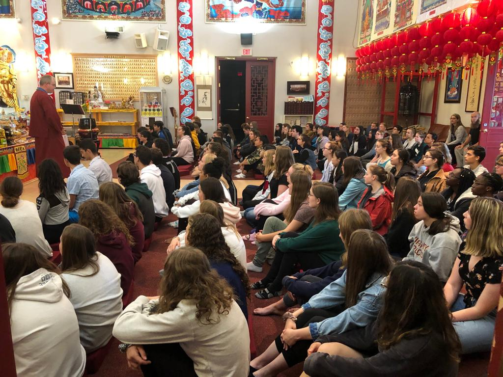 Jh Picard High School Visit – Chin Yin Buddhist Temple 淨音 regarding Jh Picard Calendar