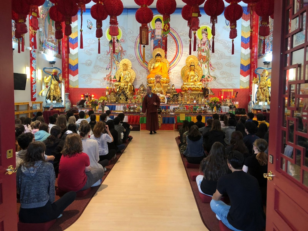 Jh Picard High School Visit – Chin Yin Buddhist Temple 淨音 within Jh Picard Calendar