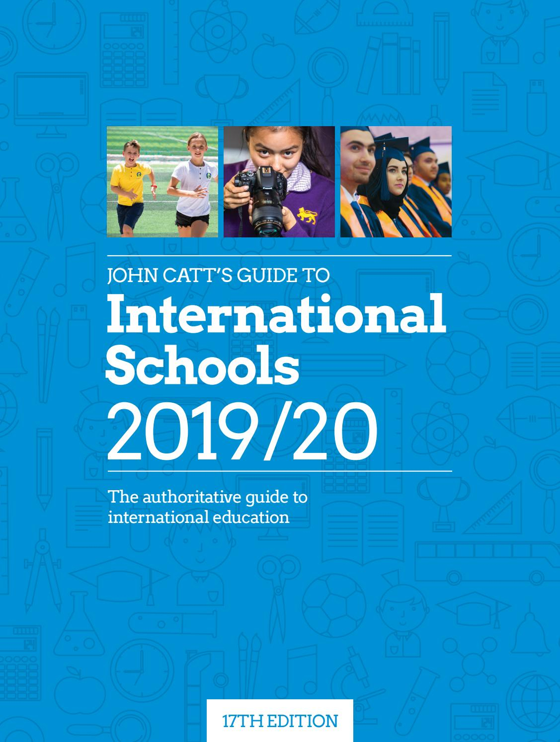 John Catt's Guide To International Schools 201920 By John with Oeiras International School Calendar