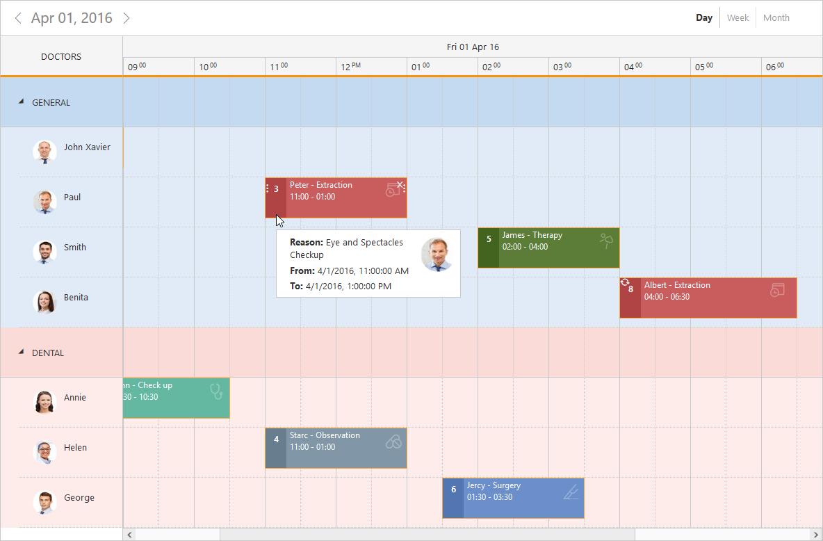 Jquery Scheduler Control | Event Calendar | Syncfusion within Mvc Calendar Control