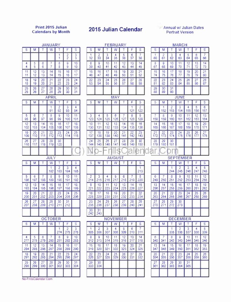 Julian Calendar 2020  Erira.celikdemirsan intended for Julian Date Calendar Leap Year Pdf